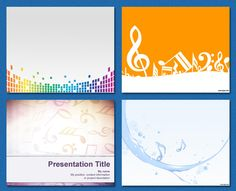 #PowerPoint #Templates - Music / Notes
