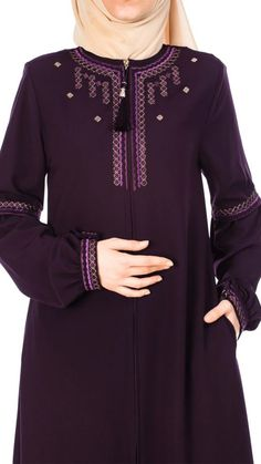 Islamic Fashion, Muslim Fashion, Modest Fashion, Fashion Dresses, Modele Hijab, Kurta Designs Women, Hijab Fashion Inspiration, Muslim Dress, Cheap Evening Dresses