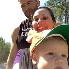 Mickie James family selfie