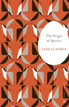 The Origin of Species by Charles Darwin; design by Emily Mahon; illustration by Eleanor Grosch (Modern Library / August 1998)