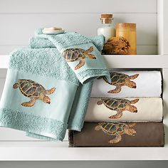 Buy Sea Turtle Towels online at Gump's