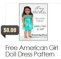 Free American Girl Doll Dress Pattern