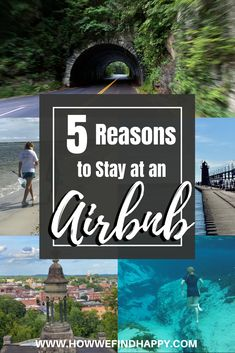 Have you stayed at an Airbnb? If not, here we share 5 reasons you should consider it. Airbnb can be the safest, most affordable travel accommodations. #airbnb #rentalhomes #traveltheUSA #wheretostay Ways To Travel, Travel Advice, Travel Usa, Travel Ideas, Travel Tips, Best Family Resorts, Packing Tips For Vacation, Unique Hotels, Local Attractions