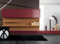 Built-ins - modern - Media Storage - Miami - Dayoris Custom Woodwork Bookshelves In Living Room, Living Room Storage, My Living Room, Wall Wood Panels Design, Decor Interior Design, Interior Decorating, Decorating Ideas, Decor Ideas, Built In Storage