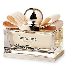 2014 Beauty Awards: Best PerfumeWarm & Scent-ual: Salvatore Ferragamo Signorina Eleganza  Feel sophisticated in a flash: The esteemed Italian fashion house weaves sultry patchouli and white leather with pear and grapefruit. As soft and smooth as a cashmere knit, the surprising combination delights.  Salvatore Ferragamo Signorina Eleganza, 1.7 oz., $87; macys.com
