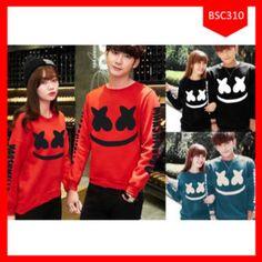 Fashion Sweater Couple Marshmellow Terbaru