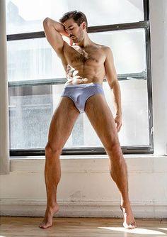 Jacob Shirtless for DNA Magazine #hairy #hunk #Model #underwear #bulge #DNAMagazine #australian