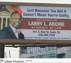 Found my new lawyer