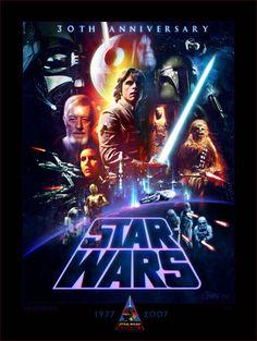 Cheeba Productions / STAR WARS artwork by Craig Howell / Star Wars Celebration. 30th Anniversary limited edition print.