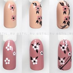 Make an original manicure for Valentine's Day - My Nails Nail Art Hacks, Nail Art Diy, Easy Nail Art, Diy Nails, Manicure, Nail Art Designs Videos, Nail Art Videos, Nail Designs, Nail Drawing