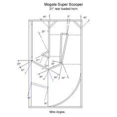 Speakerplans.com Subwoofer Box Design, Speaker Plans, Speaker Design, Speakers, How To Plan, Acoustic, Pavilion, Loudspeaker