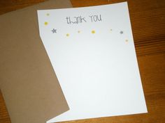Twinkle twinkle little star  Thank you by ClaudiaCurtiDesigns, $15.00