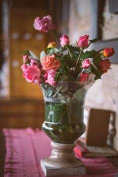 De flores y floreros...