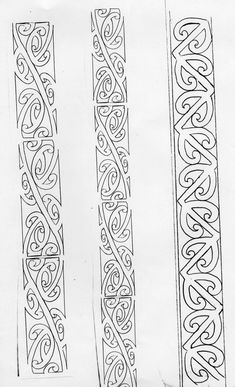 Celtic Band Tattoo, Tattoo Band, Tattoo Bracelet, Norse Tattoo, Maori Patterns, Celtic Patterns, Celtic Designs, Maori Tattoo Designs, Maori Tattoos