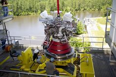 A-1 Test Stand Houses First Full Engine in Nearly a Decade
