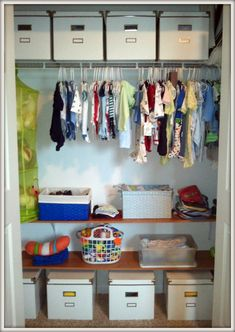 How to Double (Triple?) the Space in Your Child's Closet