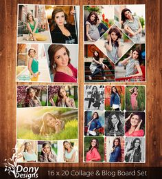 BUY 1 GET 1 FREE Seniors Blog Board & Collage by DonyDesigns, $10.00