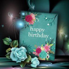 Happy Birthday Greetings Friends, Happy Birthday Art, Happy Birthday Messages, Happy Birthday Images, Birthday Love, It's Your Birthday, Birthday Cards, Birthday Wishes Flowers, Birthday Bouquet