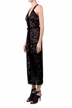 ORBITAL V NECK DRESS - Dresses - READY TO WEAR - Shop