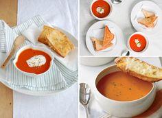 Receita Light da Semana: sopa vegetariana de tomate com gruyère | Território Animale
