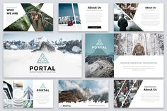 Portal Modern Powerpoint Template by Reshapely on Portal is a Clean and easy to customize Powerpoint Template. Each of the images used are under the license and are included Affiliate ad link. Create Powerpoint Template, Powerpoint Themes, Creative Powerpoint, Good Presentation, Presentation Templates, Change Picture, Slide Design, Brochure Design, Portal