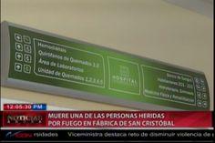 Fallece una de las victimas de la explosión de la caldera en San Cristóbal