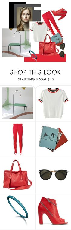 """sporty spring 2017 by #roxariaone"" by roxariaone ❤ liked on Polyvore featuring Muller Van Severen, Pretty Green, WithChic, Gucci, Jil Sander, CÉLINE, White Label and Maison Margiela"