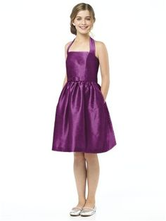Alfred Sung Junior Bridesmaid style JR502 (amber)