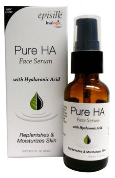 A Pure Hyaluronic Acid Face Serum that is designed for maximum moisturizing and softening. #skincare #beauty #naturalproducts #hyalogic #hyaluronicacid