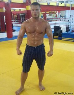 a hot MMA mixed fighting specialist