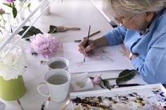 Why I create: Marjolein Bastin, wildlife watercolor artist Marjolein Bastin, Dutch Painters, Dutch Artists, Watercolor Artists, Nature Paintings, Wildlife, Watercolors, Create, Google
