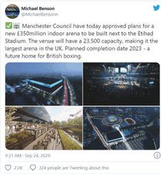 Manchester Indoor sería la nueva sede del boxeo Británico