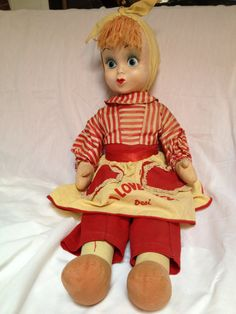 1953 I Love Lucy Rag Doll very rare by DediWoodworks on Etsy, $650.00