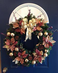 Christmas wreath. DIY Christmas decor