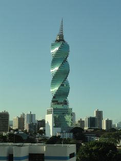 Remember seeing this building in Panama City..it was my favorite! Amazing and funky buildings!