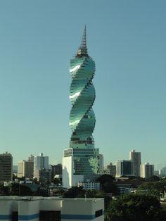 panama city F TOWER  o edificio del tornillo