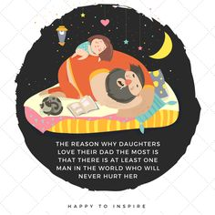 Happy To Inspire - 22 Illustrations Show You Have a Cool Dad - Happy To Inspire