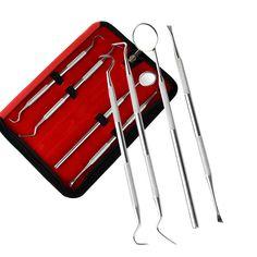 4 قطعة/الوحدة أدوات العناية بالفم الأسنان الأسنان مكشطة الصبح نحت أداة كيت مع حقيبة صغيرة الأسنان تبييض الأسنان نظيفة HT0093