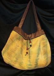Hand dyed silk handbag.  Simply sumptuous.