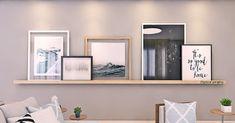 Acho que você vai adorar esta sala de TV e Estar integrada com Jantar. Olha só que linda! (muito espelho que eu adoro)