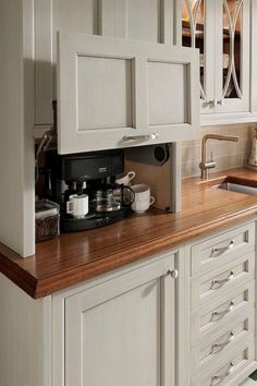 Wood Cabinets For Kitchen - CLICK THE IMAGE for Lots of Kitchen Ideas. #cabinets #kitchenstorage