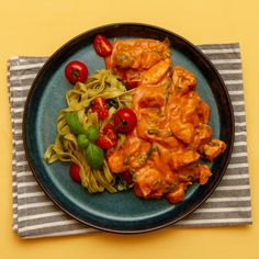 Curry, Pasta, Ethnic Recipes, Alternative, Spinach, Curries, Pasta Recipes, Pasta Dishes