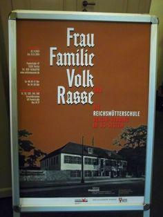 """Exhibition at Wedding Museum """"Frau, Familie, Volk und Rasse. Die Reichsmütterschule Berlin-Wedding im NS-System"""""""
