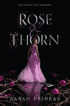 Cover Reveal: Rose & Thorn by Sarah Prineas -On sale September 13, 2016 -After the spell protecting her is destroyed, Rose seeks safety in the world outside the valley she had called home. She's been kept hidden all her life to delay the three curses she was born with—curses that will put her into her own fairy tale and a century-long slumber. Accompanied by the handsome and mysterious Watcher, Griff, and his witty and warmhearted partner, Quirk, Rose tries to escape from the ties that…