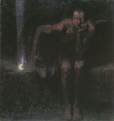 "Франц фон Штук ""Люцифер""   Franz Stuck ""Lucifer""1890"