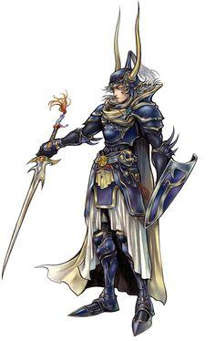 Warrior of Light - Characters & Art - Dissidia: Final Fantasy