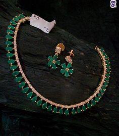 High quality imitation jewellery Necklace and earrings set Ruby Jewelry, India Jewelry, Jewelry Sets, Gold Jewelry, Jewelery, Jewelry Necklaces, Stylish Jewelry, Modern Jewelry, Halo