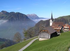 Niederrickenbach between Engelberg and Beckenried.