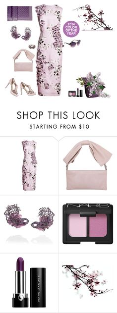 Purple reign by riquee on Polyvore featuring Giambattista Valli, RED Valentino, Lydia Courteille, NARS Cosmetics, Marc Jacobs, Louis Vuitton, Emilio Pucci, Alberta Ferretti and Balenciaga