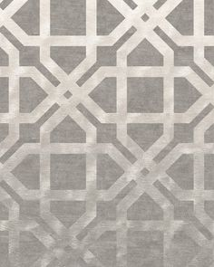 Hampton Driftwood - A gorgeous contemporary design featuring deeply luxurious graduated silk. More than your average grey geometric. Hand Knotted Himalayan Wool and Chinese Silk. Modern luxury rugs London #ModernRugs